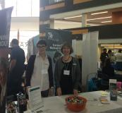 Douglas College booth at Career Fair