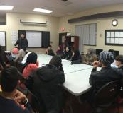 With the help of RCMP Diversity Coordinator Yousef Nasimi, the Youth Literacy Project recently held a presentation and discussion on how to deal with bullies and peer pressure both online and offline.
